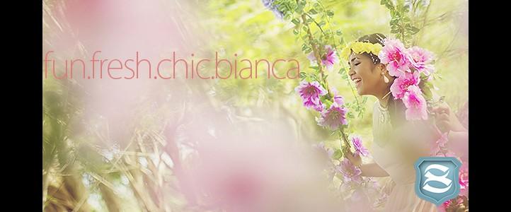 Bianca @ 18 {pre-debut photos}