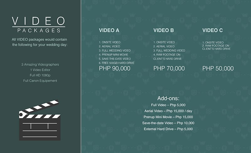 7. Video Packages