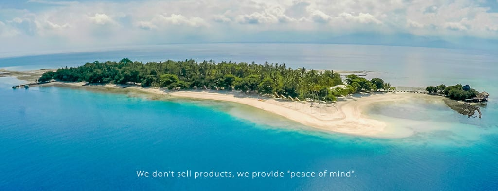 Aerial Photo of Private Island Buenevista FOR RATE PAGE