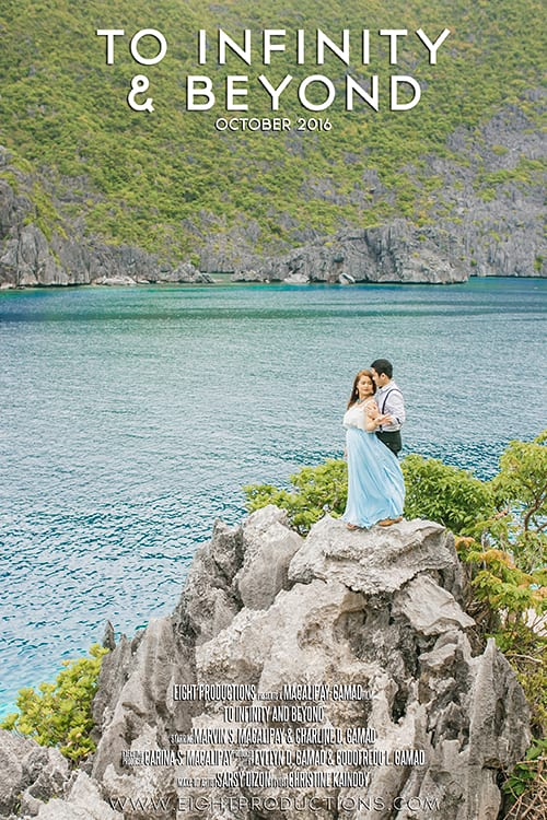Marvin Charline El Nido Prenup Movie Poster Blog