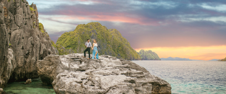 Marvin + Charline {El Nido Engagement Photos}