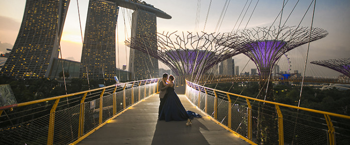 Vincent + Jhoan {Singapore Engagement Session}