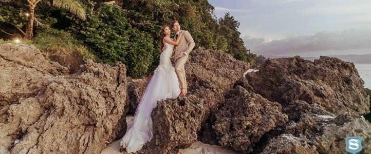 "Lloydi Birchmore + Valerie ""Bangs"" Garcia  {Wedding Onsite Video}"