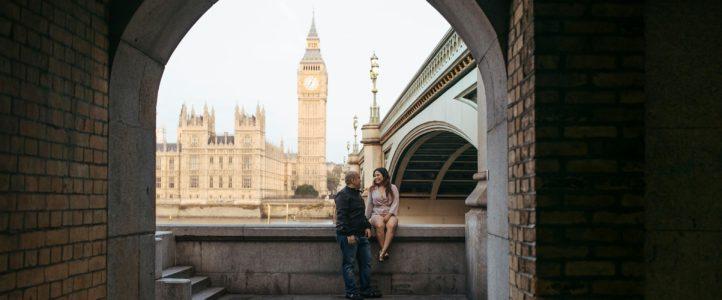 James + Ro-Ann London Engagement Photos