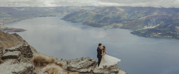 Lester + April {New Zealand Post Wedding Photos}