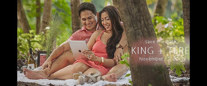King + Tere {save the date}