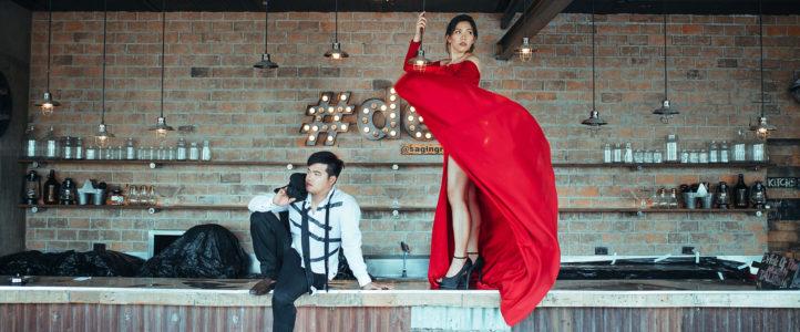 Mark + Khat {Engagement BTS}