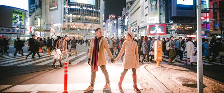 Rommel + Tanya {Japan Engagement Photos}